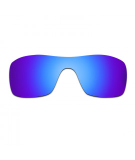 HKUCO Blue/Purple Polarized Replacement Lenses and Blue Earsocks Rubber Kit For Oakley Juliet Sunglasses 3hLjpm5xn