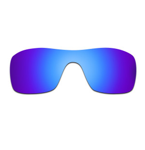 HKUCO Blue Polarized Replacement Lenses for Oakley Batwolf Sunglasses