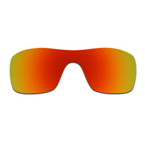 HKUCO Red Polarized Replacement Lenses for Oakley Batwolf Sunglasses