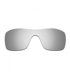 HKUCO Titanium Mirror Polarized Replacement Lenses for Oakley Batwolf Sunglasses