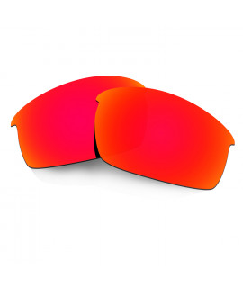 HKUCO Red Polarized Replacement Lenses for Oakley Bottlecap Sunglasses