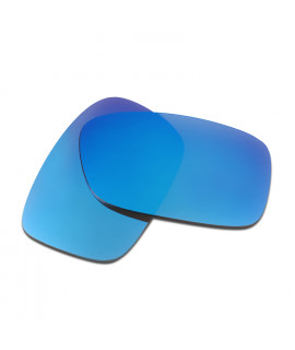 HKUCO Blue Polarized Replacement Lenses for Oakley Crankcase Sunglasses