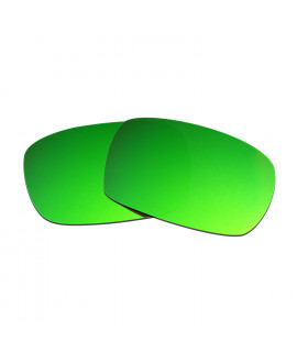 Hkuco Mens Replacement Lenses For Oakley Crankcase Sunglasses Emerald Green Polarized