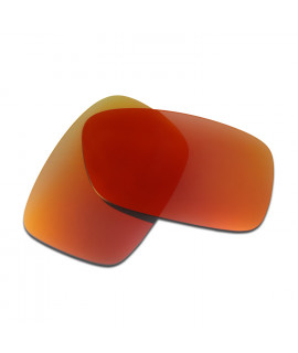 HKUCO Red Polarized Replacement Lenses for Oakley Crankcase Sunglasses