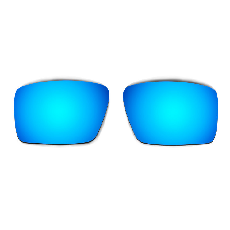 HKUCO Mens Replacement Lenses For Oakley Eyepatch 2 Red/Blue/Black/24K Gold/Purple Sunglasses