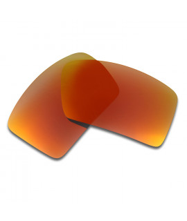 HKUCO Red Polarized Replacement Lenses for Oakley Eyepatch 2 Sunglasses
