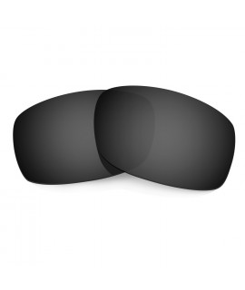 HKUCO Black Polarized Replacement Lenses for Oakley Fives Squared Sunglasses