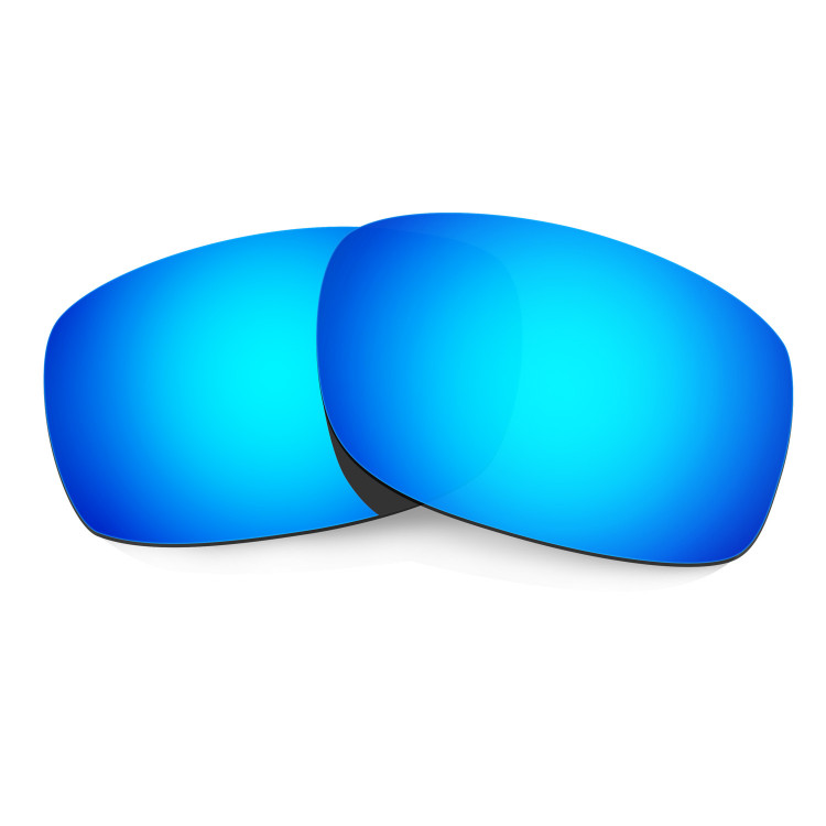 1468fc78c6 HKUCO Blue Polarized Replacement Lenses for Oakley Fives Squared Sunglasses