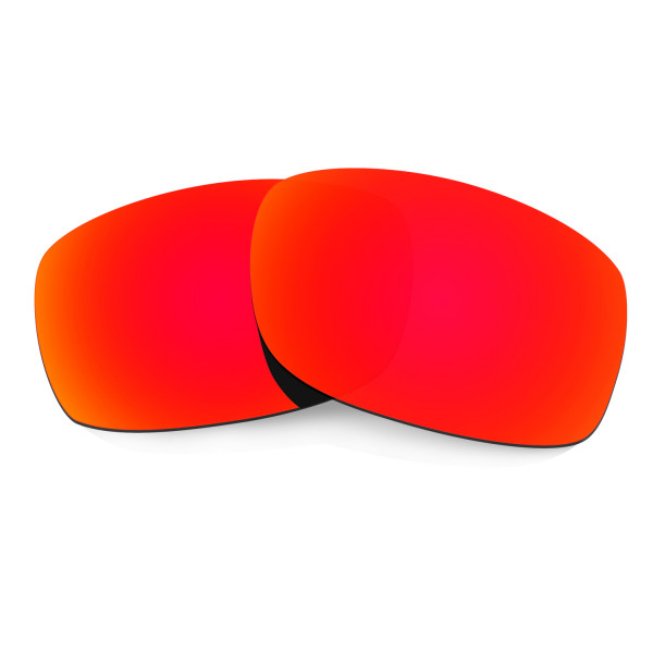 HKUCO Red Polarized Replacement Lenses for Oakley Fives Squared Sunglasses