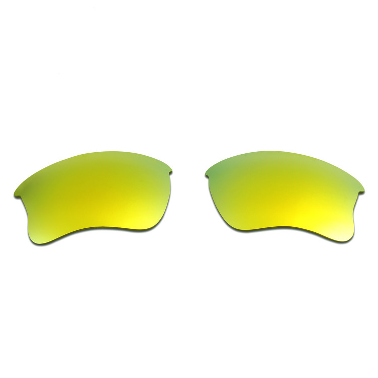 2fefe43a6fb HKUCO Red+Blue+24K Gold+Emerald Green Polarized Replacement Lenses for Oakley  Flak Jacket XLJ Sunglasses