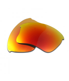 HKUCO Red Polarized Replacement Lenses for Oakley Flak Jacket XLJ Sunglasses