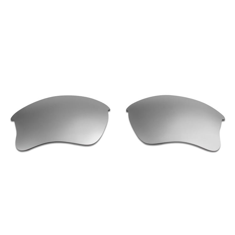697858ea6d HKUCO Titanium Mirror Polarized Replacement Lenses for Oakley Flak Jacket  XLJ Sunglasses