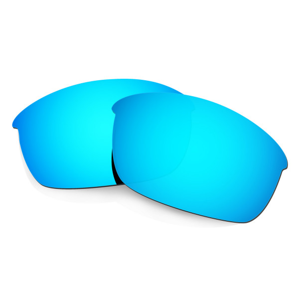 HKUCO Blue Polarized Replacement Lenses for Oakley Flak Jacket Sunglasses