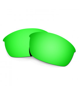 HKUCO Green Polarized Replacement Lenses for Oakley Flak Jacket Sunglasses