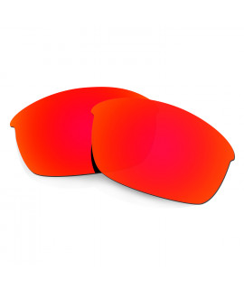 HKUCO Red Polarized Replacement Lenses for Oakley Flak Jacket Sunglasses