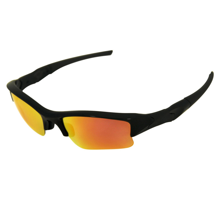 HKUCO Replacement Lenses For Dbla4X1AyM Half Jacket XLJ Sunglasses Black/Transparent Yellow Polarized sDJFiBJVy