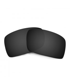 HKUCO Black Polarized Replacement Lenses For Oakley Gascan Sunglasses