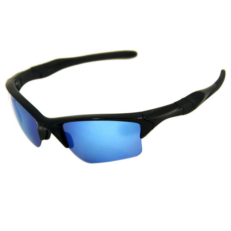 f74c41215ba HKUCO Ice Blue Polarized Replacement Lenses for Oakley Half Jacket 2.0 XL  Sunglasses