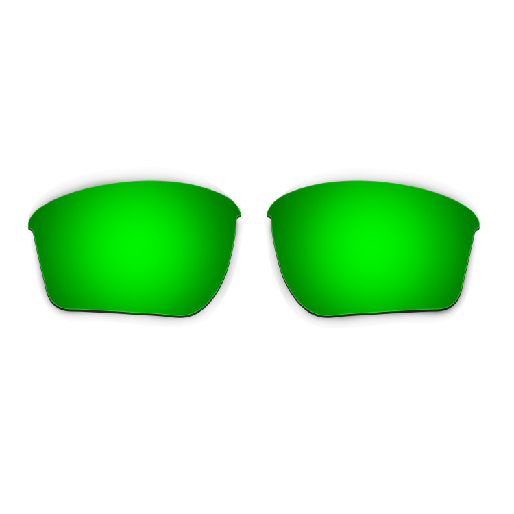 ce0ad871f4 Hkuco Mens Replacement Lenses For Oakley Half Jacket 2.0 XL Sunglasses  Emerald Green Polarized