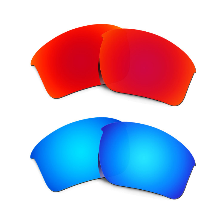 best oakley replacement lenses smex  New HKUCO Red+Blue Polarized Replacement Lenses for Oakley Half Jacket 20  XL Sunglasses