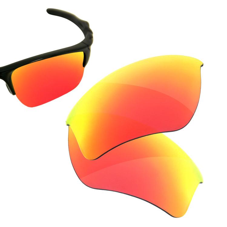HKUCO Mens Replacement Lenses For Oakley Half Jacket 2.0 Xl Sunglasses Blue/Black Polarized tUuYPA