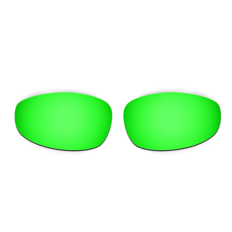 HKUCO Titanium/Emerald Green/Transition/Photochromic Polarized Replacement Lenses For Oakley Juliet Sunglasses XD03KEz9