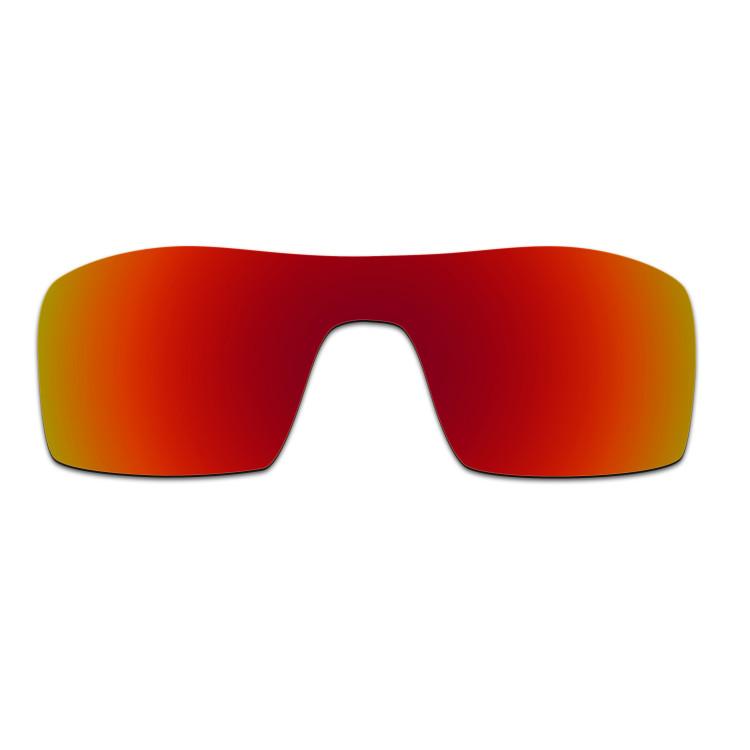 HKUCO Mens Replacement Lenses For VIUCKQzVX7 Oil Rig Sunglasses Black/Transparent Polarized ZLD7dV