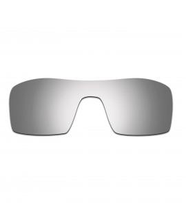 HKUCO Titanium Mirror Polarized Replacement Lenses For Oakley Oil Rig Sunglasses