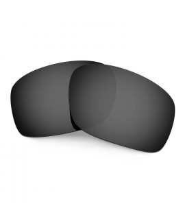 HKUCO Black Polarized Replacement Lenses for Oakley Scalpel Sunglasses