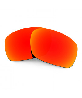 HKUCO Red Polarized Replacement Lenses for Oakley Scalpel Sunglasses