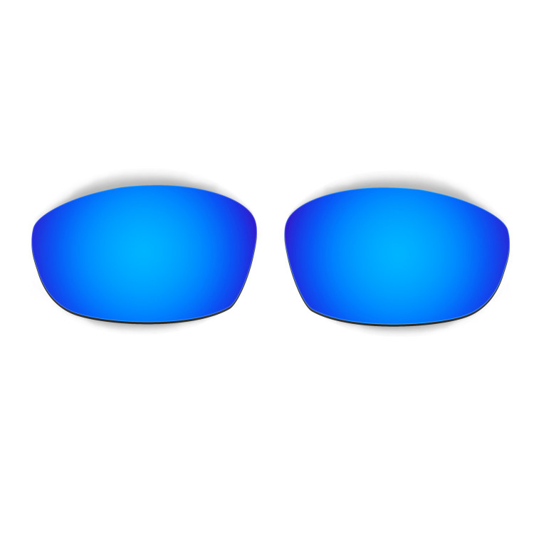 HKUCO Mens Replacement Lenses For Oakley Straight Jacket 1999 Sunglasses Blue/Brown Polarized mUKq1wV9