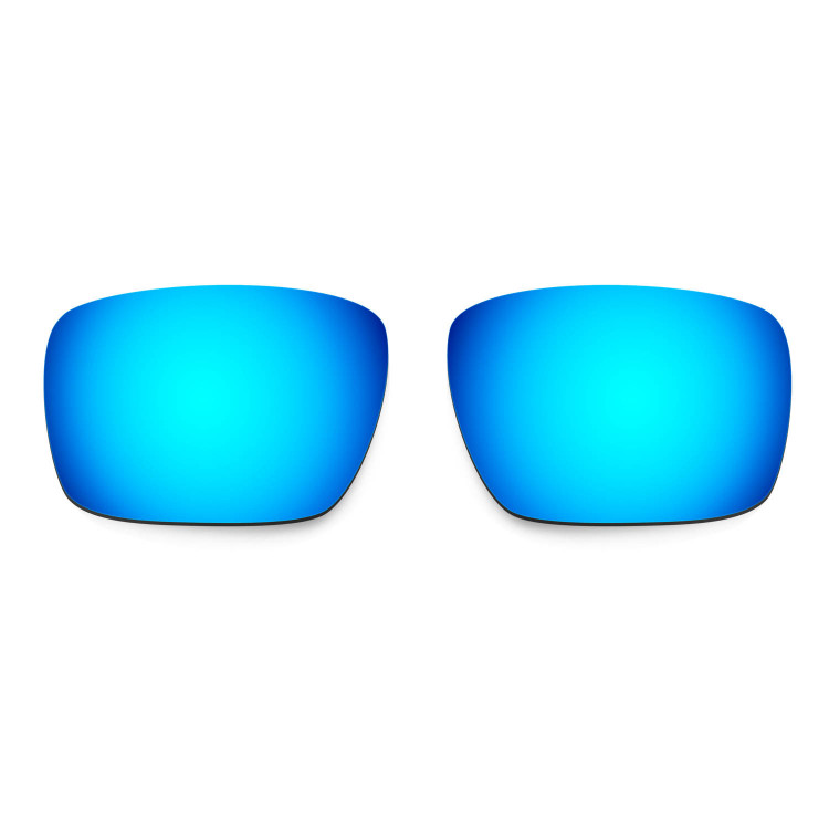 HKUCO Mens Replacement Lenses For Oakley Triggerman Red/Blue/Black/24K Gold Sunglasses aDgqwd