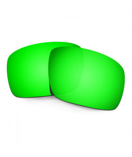 Hkuco Mens Replacement Lenses For Oakley Triggerman Sunglasses Emerald Green Polarized