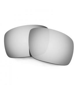 Hkuco Mens Replacement Lenses For Oakley Triggerman Sunglasses Titanium Mirror Polarized