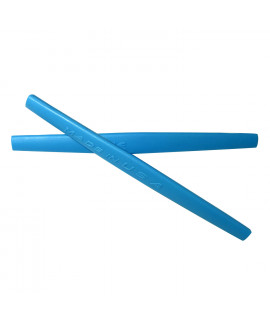 HKUCO Blue Replacement Silicone Leg Set For Oakley Whisker Sunglasses Earsocks Rubber Kit