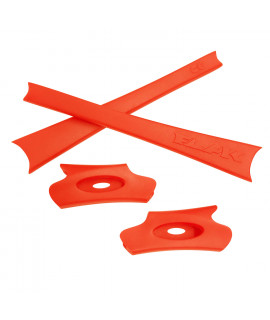 HKUCO Orange Replacement Rubber Kit For Oakley Flak Jacket /Flak Jacket XLJ  Sunglass Earsocks