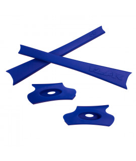 HKUCO Dark Blue Replacement Rubber Kit For Oakley Flak Jacket /Flak Jacket XLJ  Sunglass Earsocks