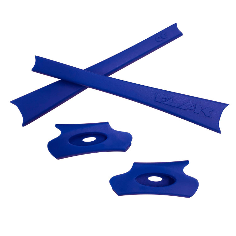 HKUCO White/Black Replacement Rubber Kit For Oakley Flak Jacket/Flak Jacket XLJ Sunglass Earsocks GAMSoAZUZ