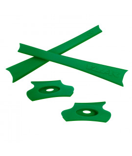 HKUCO Green Replacement Rubber Kit For Oakley Flak Jacket /Flak Jacket XLJ  Sunglass Earsocks