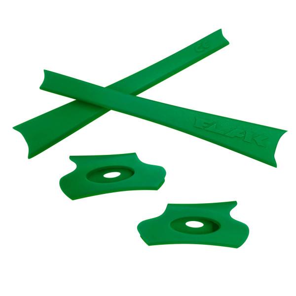 HKUCO Green Replacement Rubber Kit For Oakley Flak Jacket /Flak Jacket XLJ  Sunglass Earsocks