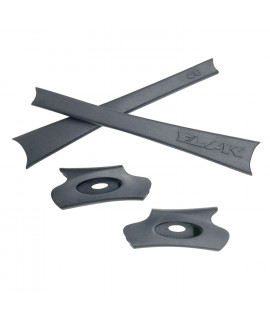 HKUCO Grey Replacement Rubber Kit For Oakley Flak Jacket /Flak Jacket XLJ  Sunglass Earsocks