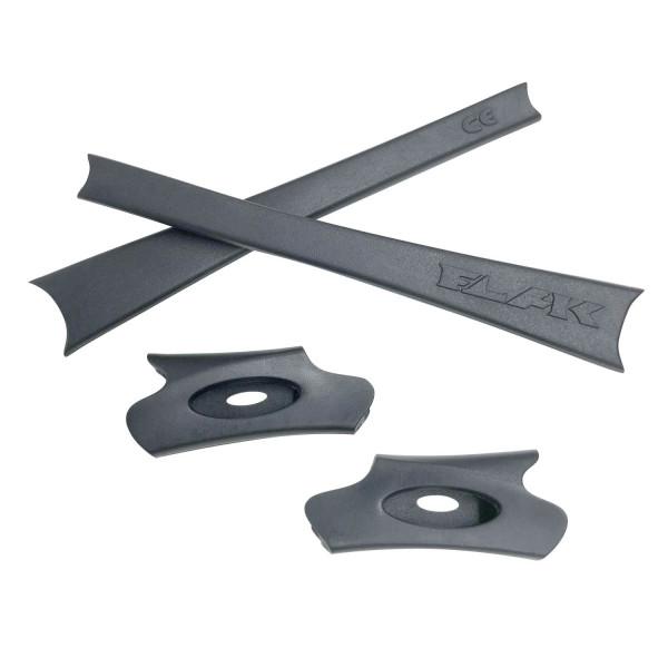HKUCO Grey Replacement Rubber Kit For Oakley Flak Jacket /Flak Jacket XLJ  Sunglass Earsocks