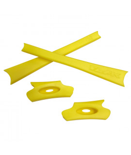 HKUCO Yellow Replacement Rubber Kit For Oakley Flak Jacket /Flak Jacket XLJ  Sunglass Earsocks