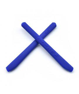 HKUCO Dark Blue Replacement Silicone Leg Set For Oakley EVZero OO9308 Sunglasses Rubber Kit