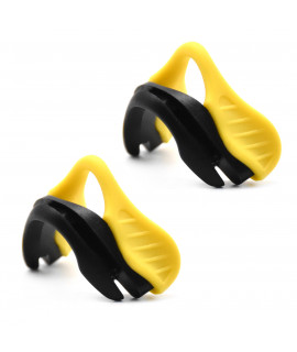 HKUCO Yellow Replacement Silicone Nose Pads For Oakley EVZero OO9308 Earsocks 2 pics