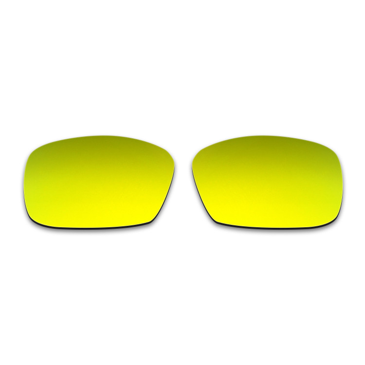 ee4beb0677 Hkuco Mens Replacement Lenses For Spy Optic Dirk Sunglasses 24K Gold  Polarized