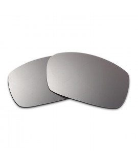 Hkuco Mens Replacement Lenses For Spy Optic Dirk Sunglasses Titanium Mirror Polarized