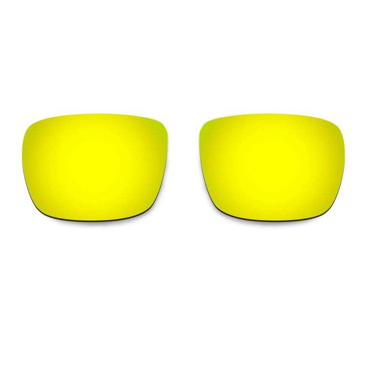 b790399a6bb Hkuco Mens Replacement Lenses For Spy Optic Helm Sunglasses 24K Gold  Polarized