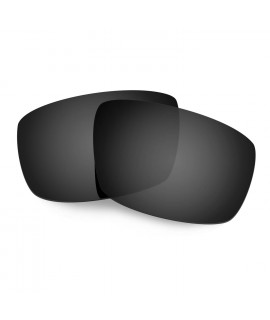 Hkuco Mens Replacement Lenses For Spy Optic Logan Sunglasses Black Polarized
