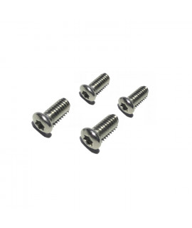 HKUCO Replacement Screws 4 pieces Stainless Steel For Oakley Juliet/X Metal XX/X-Squared/Penny Sunglasses